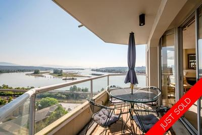 Fraserview Apartment for sale: Palace Quay 3 bedroom 1,342 sq.ft. (Listed 2018-06-13)