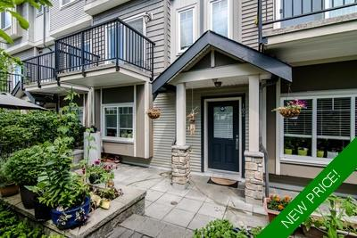 Metrotown Townhouse for sale: Royal Gardens 2 bedroom  Stainless Steel Appliances, Granite Countertop 843 sq.ft. (Listed 2019-06-18)