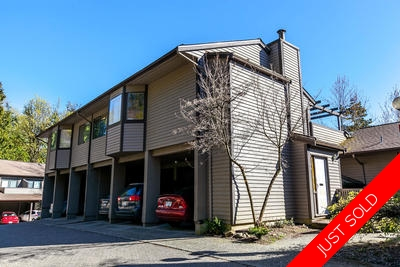 Forest Hills (North Burnaby) Townhouse for sale: Simon Fraser Village 3 bedroom 1,418 sq.ft. (Listed 2017-04-24)